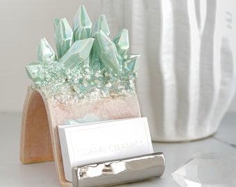 Crystal Card Holder