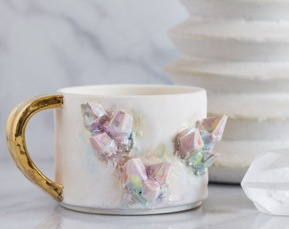 Made-To-Order: Aura Prism Crystal Lite Mug