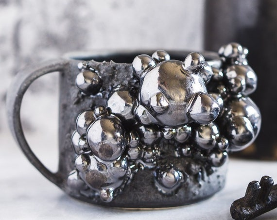 Made-To-Order: Botryoidal Hematite Mug