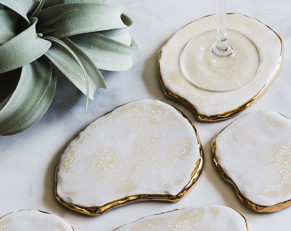 Design-Your-Own: Geode Coasters (Set of Five)