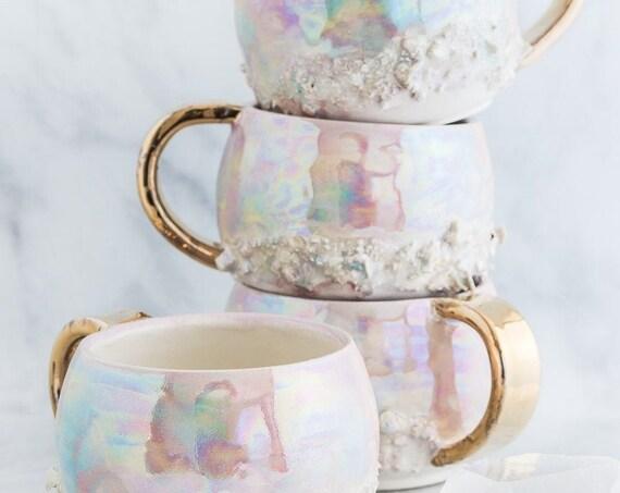 Made-To-Order: Aura Prism Cappuccino Mug