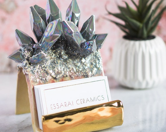 Design-Your-Own: Crystal Card Holder