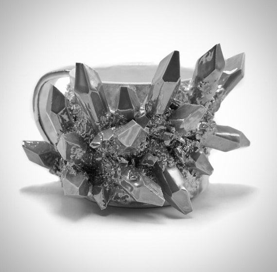 Design-Your-Own: Crystal Mug with Crystalline Glaze