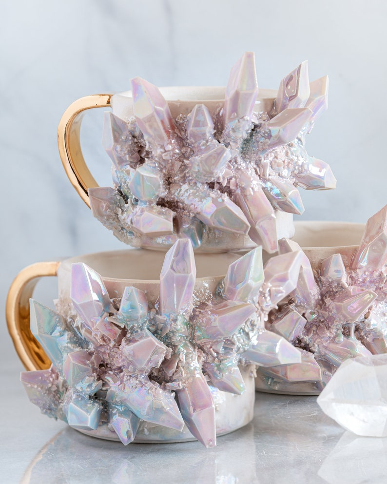 Made-To-Order: Aura Prism Crystal Mug image 5