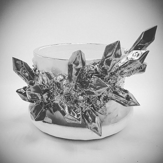 Design-Your-Own: Crystal Succulent Pot w/ Attached Dish