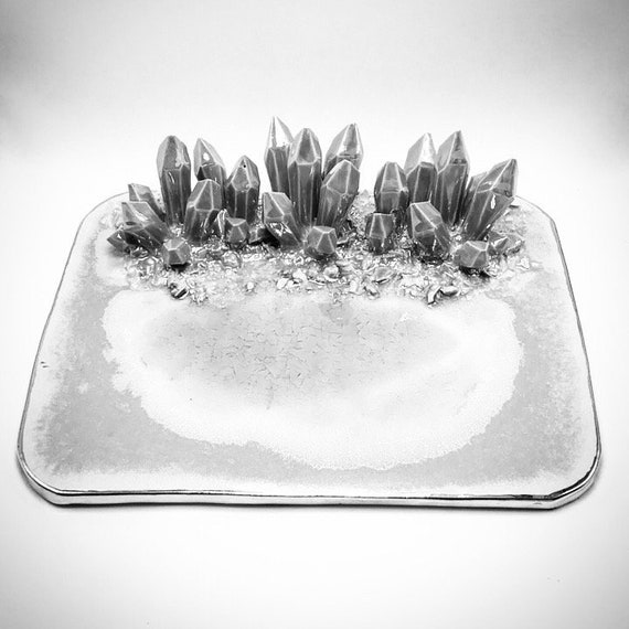 """Design-Your-Own:  12"""" x 9"""" Crystal Platter"""