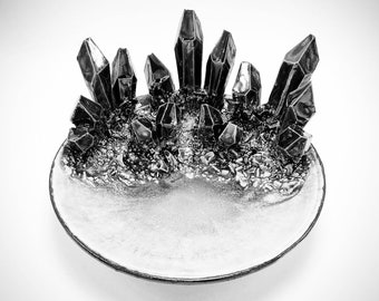 "Design-Your-Own: 6"" Crystal Dish"
