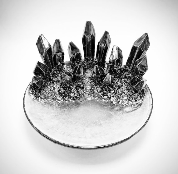 """Design-Your-Own: 6"""" Crystal Dish"""