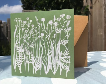 Greeting Card Flowers (5 cards including envelopes)