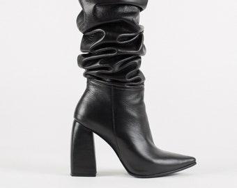 7650ab8d30ca Thigh High Boots