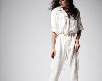 001d7216630d Linen jumpsuit