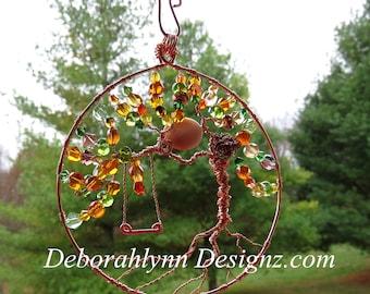 Tree Of Life Suncatcher, Sunjewel, Window Decoration,