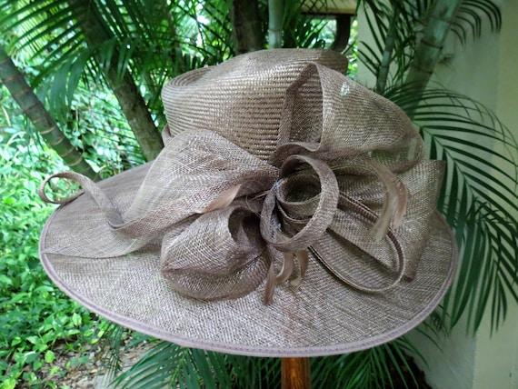 Fantastic Wide Brim Runway Straw Hat - Large Forma