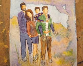Custom 8x10 Portrait (humans, landscapes)