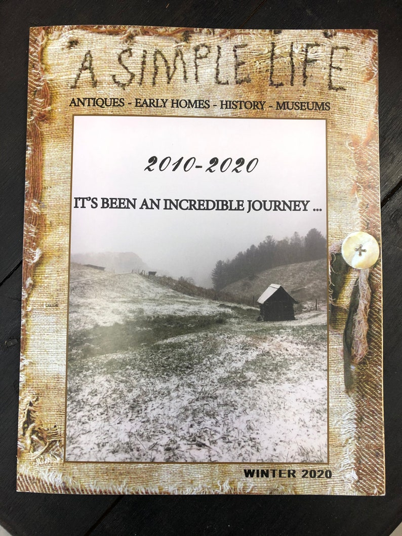 A Simple Life Magazine Final Issue image 0