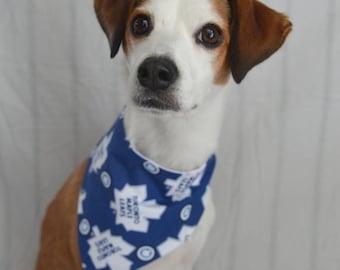 763baf23b Toronto Maple Leafs NHL Dog bandana