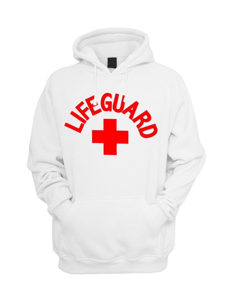babad6a2b3a Lifeguard Red Design Unisex Hoodie Pullover Hoodies for