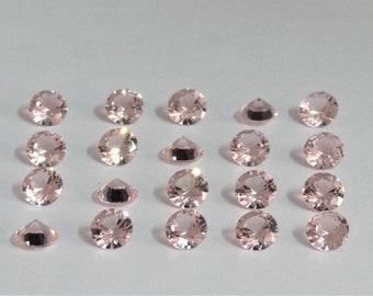 Natural Morganite Smooth Cabochon 22 Cts Morganite Pear Cabochon 27x16 mm Morganite Jewelry Loose Gemstone.