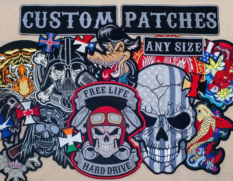 bb14be01854 Custom Patches. Service. Patches for jackets. | Etsy