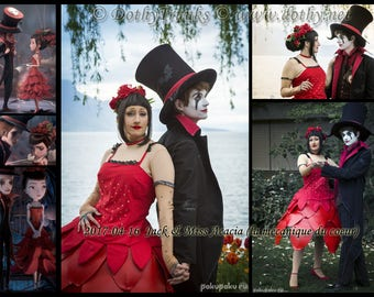 Miss Acacia Cosplay Costume (Jack et la mécanique du coeur / Jack and the cuckoo-clock heart)