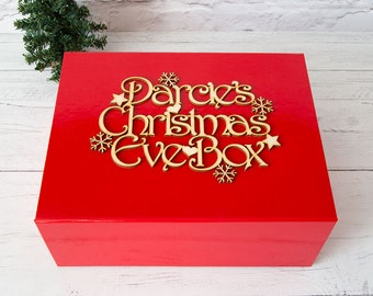 red christmas eve box childrens christmas eve box adults christmas christmas eve gift empty christmas eve box christmas eve ideas