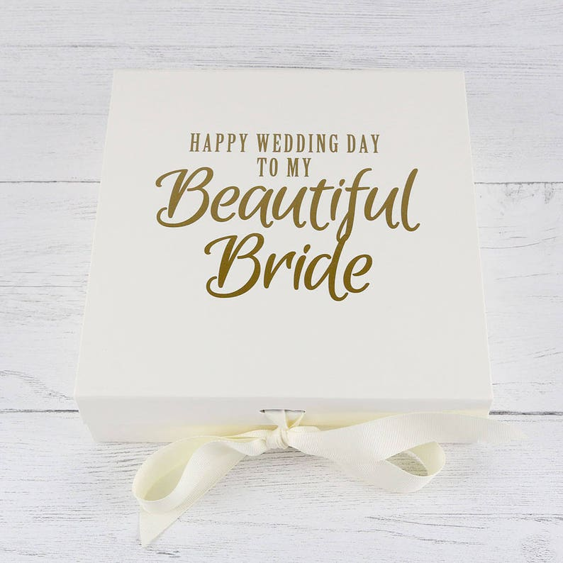 Bride Box Wedding Day Gift Gift For Bride Brides Gift Etsy