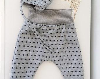 6af221f919d6 Béguin bébé  enfant avec oreilles de lapin et sarouel tout doux