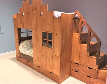 Bespoke kids bed