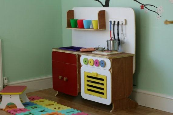 Keuken Kinderen Houten : Kinderen grote houten spelen keuken etsy