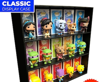 CLASSIC 2.0 Display Case for Funko Pops, Wall Mountable & Stackable Toy Shelf, Corrugated Cardboard