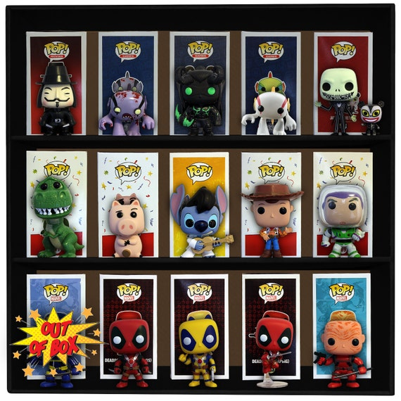 Exclusive Stackable Funko Pop Display Toy Shelf For Vinyl Etsy