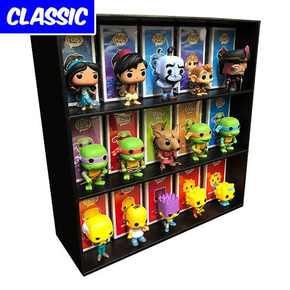 Classic Display Case For Funko Pops Wall Mountable Etsy