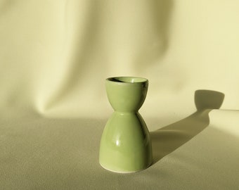 Made in Australia Vintage Ceramic Egg Cup Holder - Pastel Green