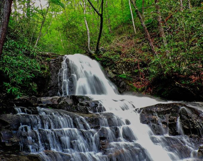Laurel Falls, Smoky Mountain National Park
