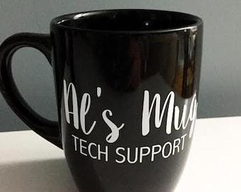 Custom Black Mug