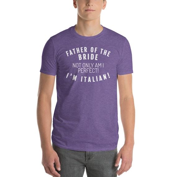 ... Père de la chemise italienne mariée   Chemise drôle     drôle Unisexe  Vêtements   Chemise ... b12f417b38b