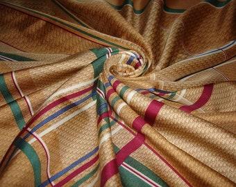 CHRISTIAN DIOR 100% silk Dior scarf