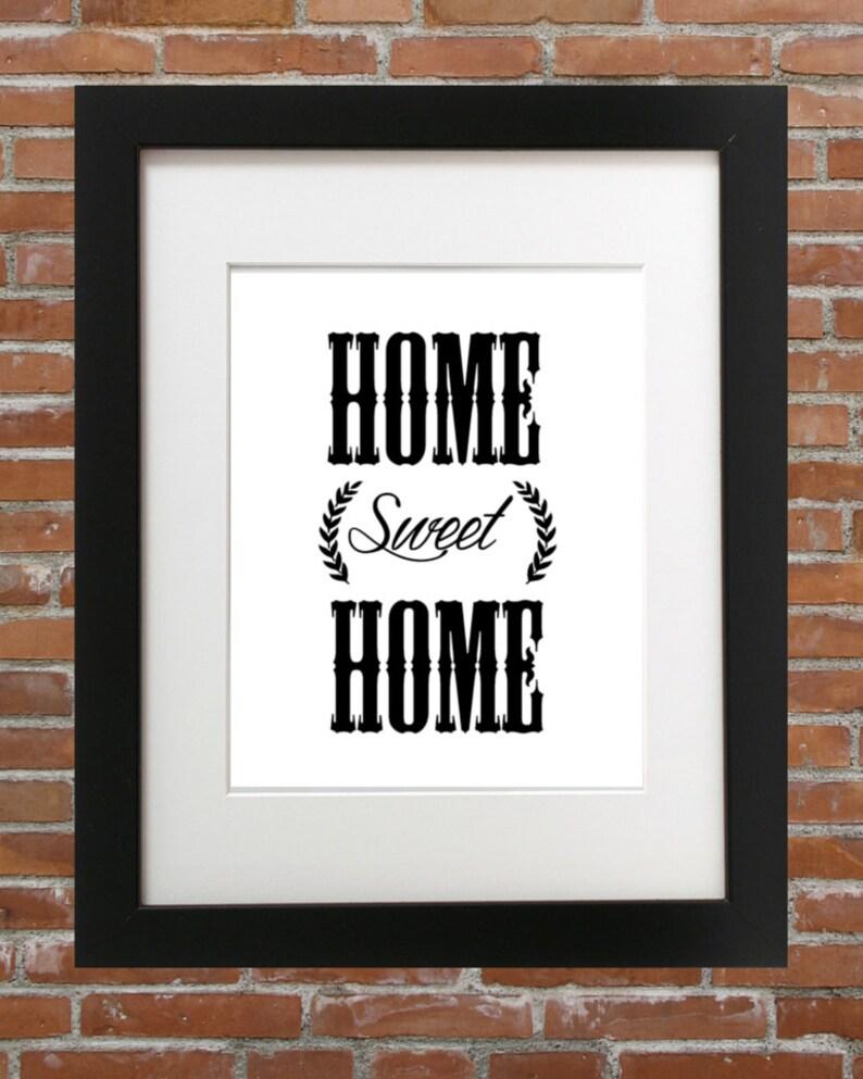 Home Sweet Home Sweet Home Sweet Home Susse Heimat 3d Sweet Etsy