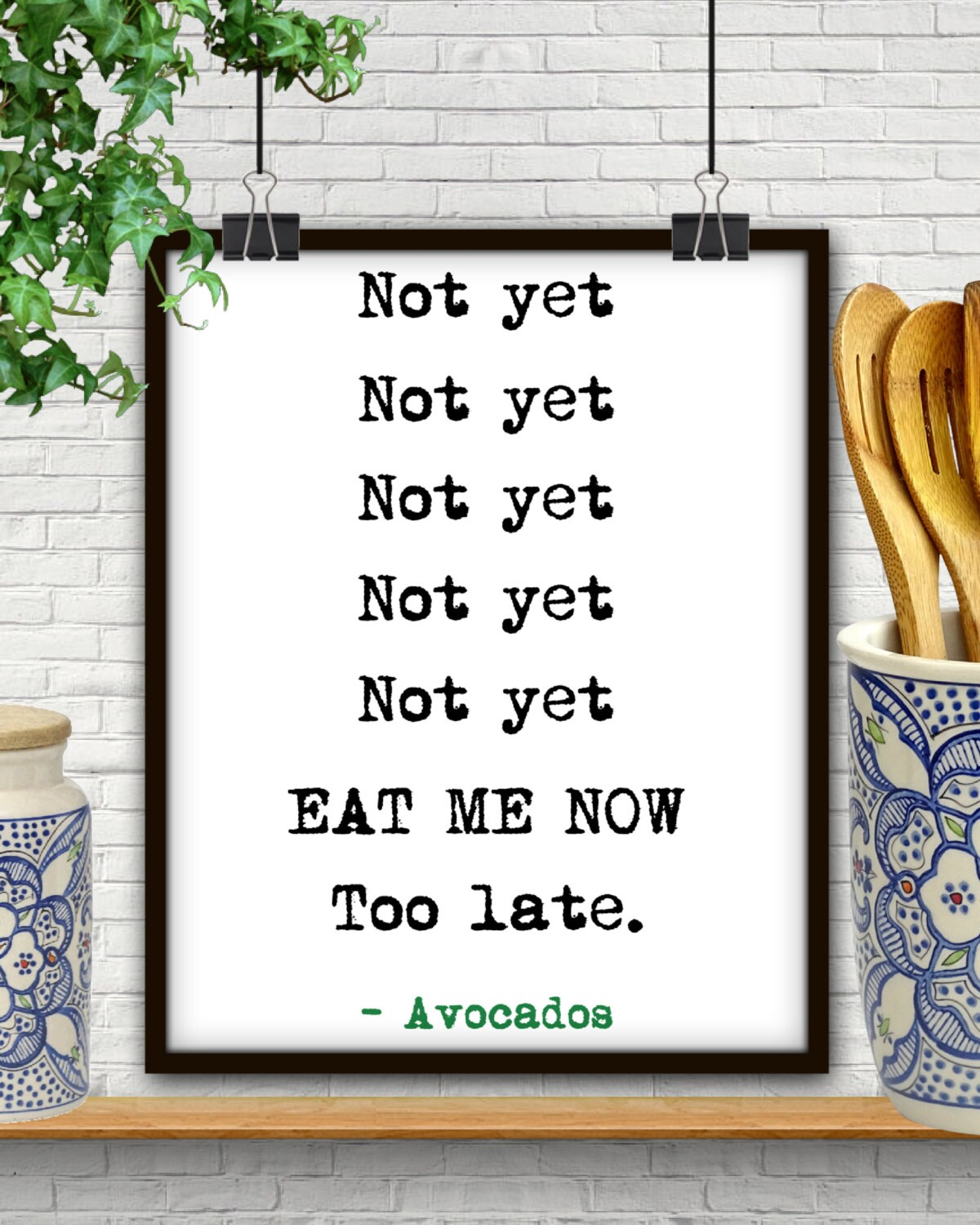 Image result for avocado not yet not yet