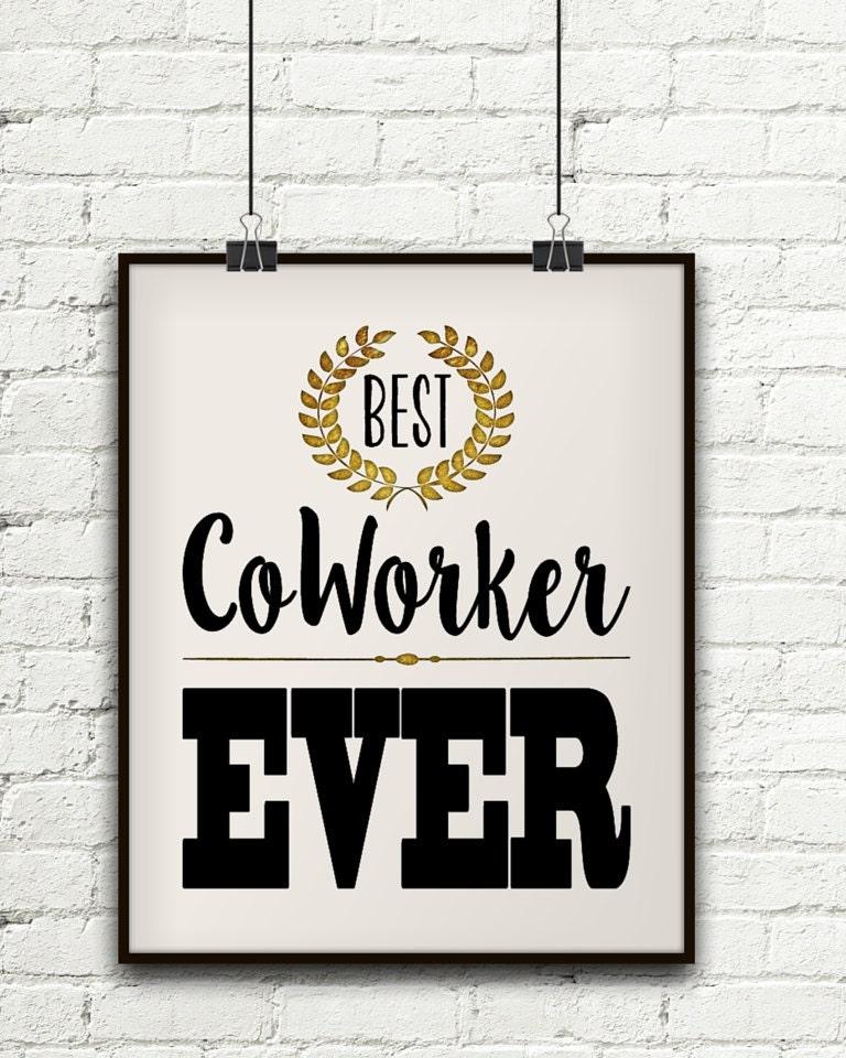 Beste Mitarbeiter jemals Co-Worker-Geschenke arbeiten | Etsy