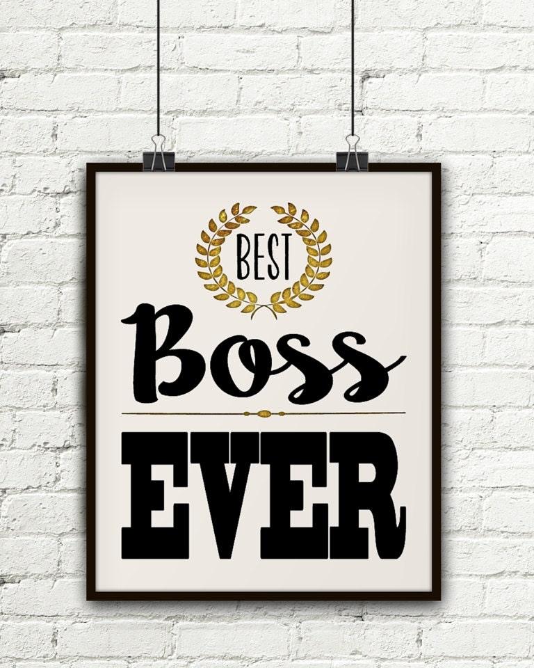 Am besten Chef jemals Geschenk für Geschenk-Ideen für | Etsy