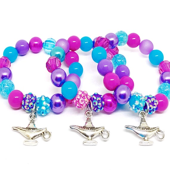 Genie Lamp Party Favors Bracelets In Organza Bags