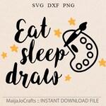 Creative Artist SVG File For Cricut and Cameo Cutting File craetive svg, School svg, Cricut files cricut download, svg sayings Little artist