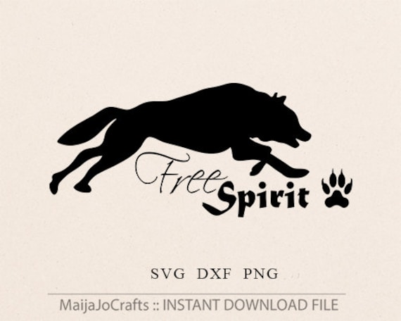 Free Spirit Wolf Svg Cricut Files Cutting Files Dxf Png Etsy