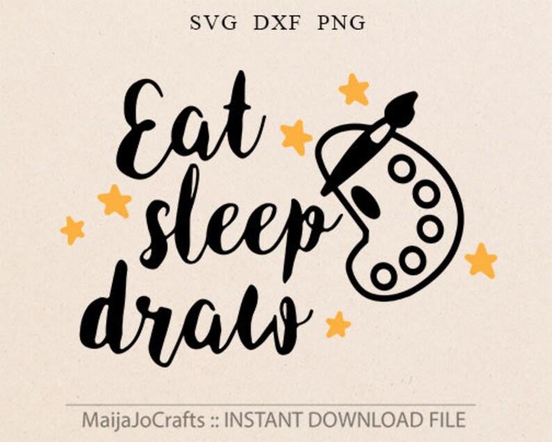 Creative Artist SVG File For Cricut and Cameo Cutting File image 0