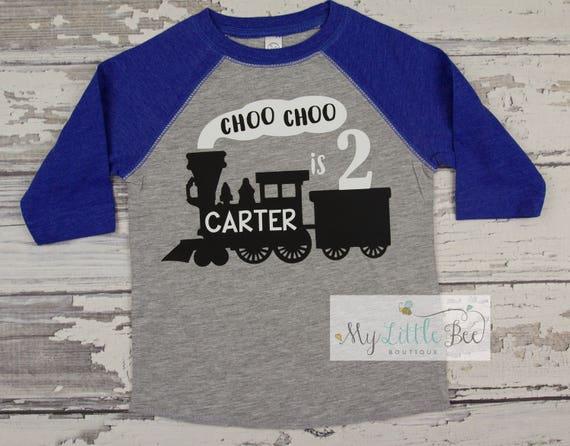 Train Birthday Shirt Choo