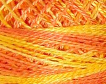 Valdani Pearl Cotton threads, size 8 and 12