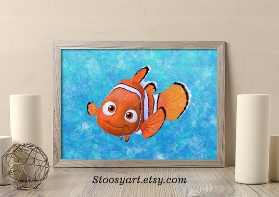 DISNEY trova Dory trova Nemo Cuscino Decorativo Bambini Cuscino Verde 35 x 35 x 15