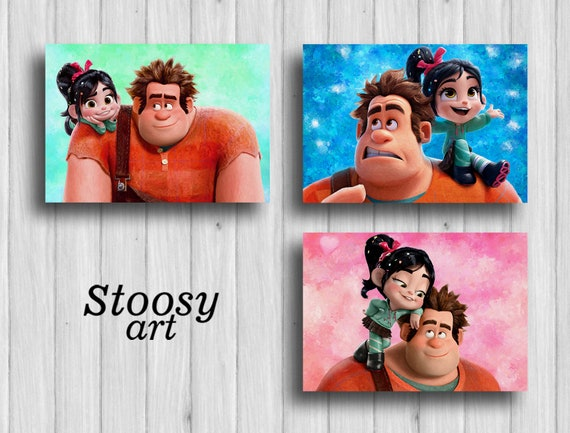 Wreck It Ralph Movie Poster 24inx36in Poster