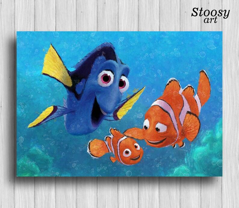 Comment dessiner gicler de trouver Nemo